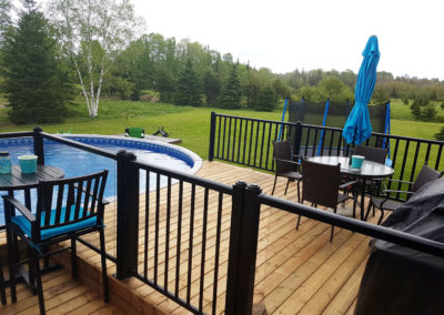 A-Rock Handyman Services - Deck by Pool