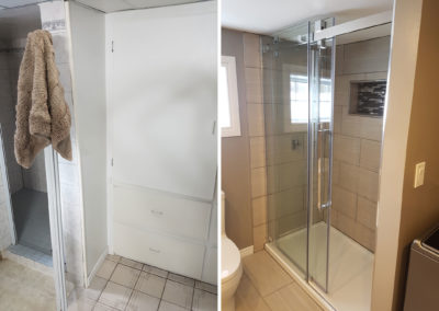 A-Rock Handyman Services - Washroom Remodel